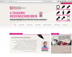 Screenshot depak_Redenschreiben
